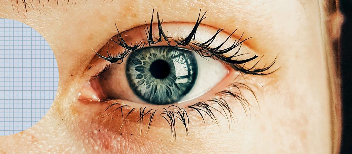 Woman's healthy eye