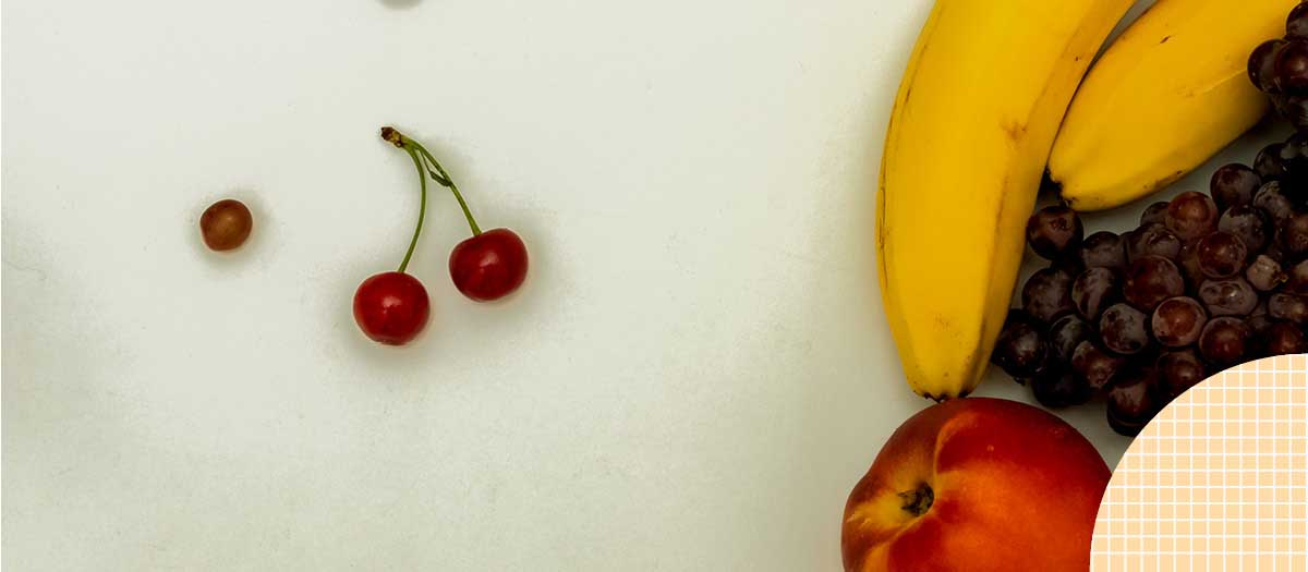 Fruits on a table