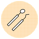 Dental tool icons